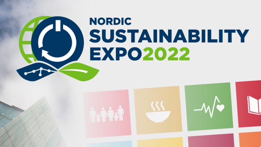 Nordic Sustainability Expo – en ny mötesplats och mässa för hållbarhet