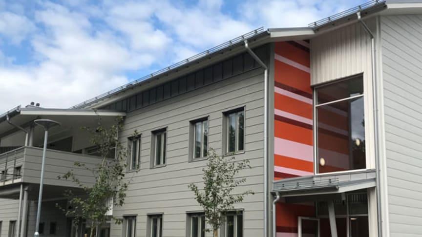 Fredag 30 augusti invigs Piteå kommuns demensboende Ängsgården