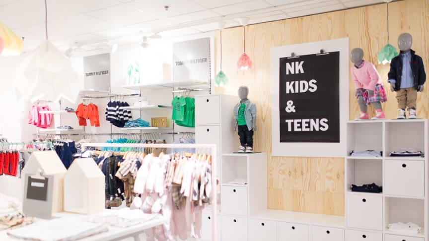NK Kids & Teens nyöppnar på NK Göteborg.