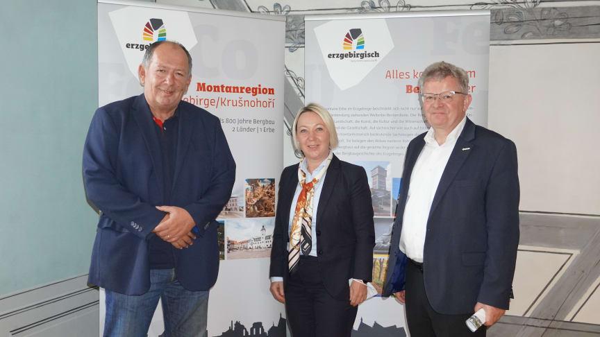 """Projektpartner des Interreg5a-Projektes """"Glück Auf Welterbe"""" (Foto: Sabine Schulze-Schwarz)"""