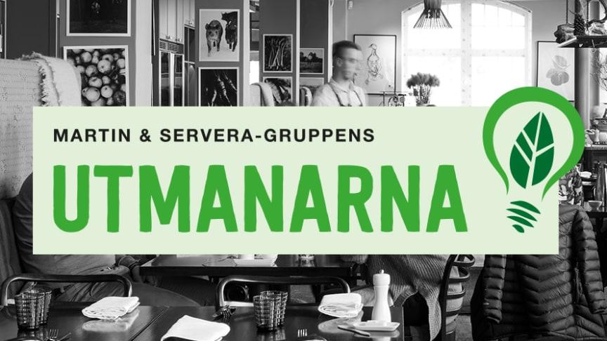 Logotype Martin & Serveras hållbarhetstävling Utmanarna 2020