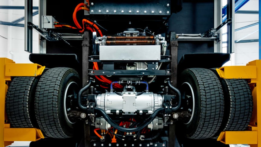 BPW  eTransport electric drive axle