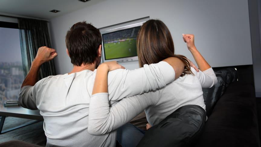 Elkjøp opplever solid økning i salget av TV-er i forkant av fotball-VM.