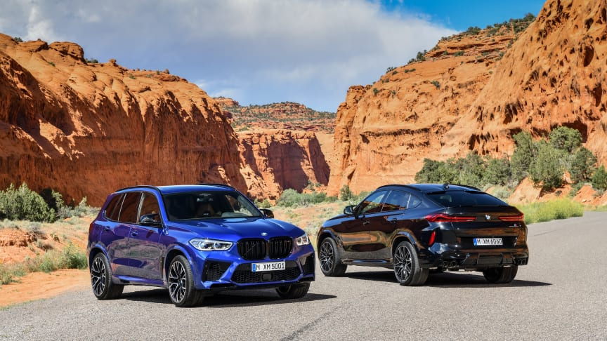 Nya BMW X5 M, BMW X6 M och Competition