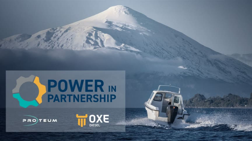 """OXE Diesel distributor Proteum have released """"Power in Partnership"""""""
