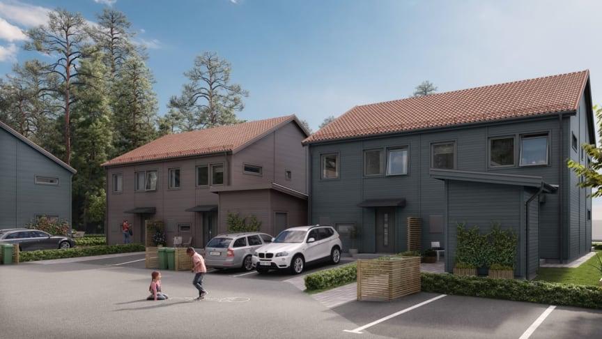 Säljsuccé i coronatider - nu byggstartar Brf Skogshem i Söderköping