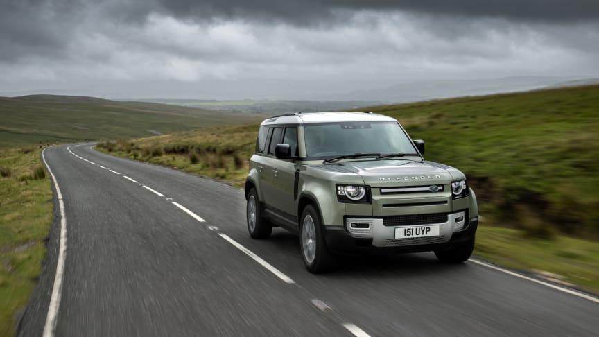 Jaguar Land Rover utvikler Defender prototype på hydrogen