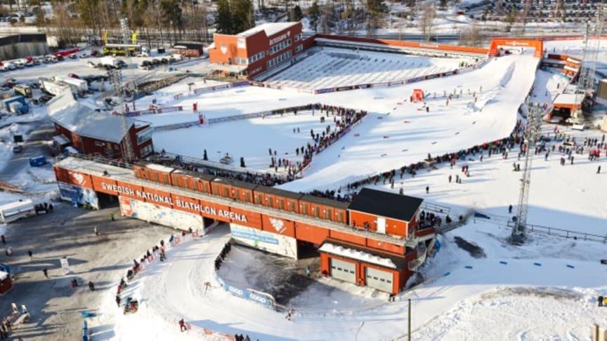 Östersund får varje år cirka 50 extra skiddagar med hjälp av konstsnö.