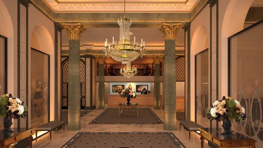 Impressive Refurbishment For The Iconic Grand Hotel Lobby Grand Hotel