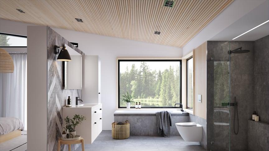 Svenskarna vill ha lättstädad inredning i badrummet - Här är produkterna som underlättar