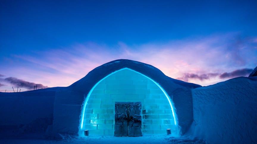 Icehotel i Jukkasjärvi. Foto Asaf Kliger