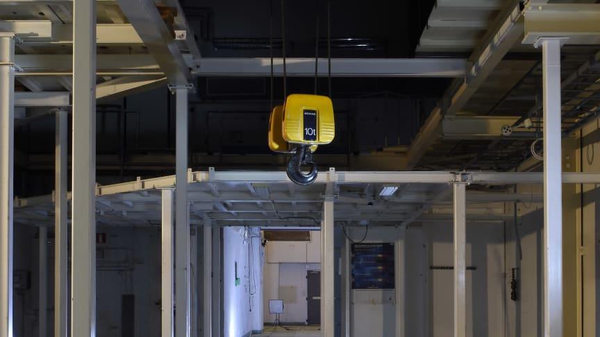 Accelerators lokaler idag. Foto: Ing-Marie Andersson, Stockholms universitet