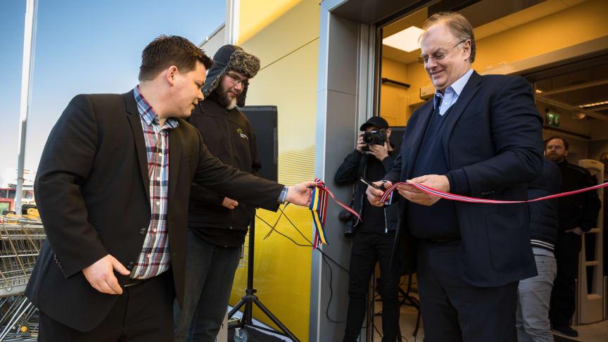 Rusta nådde milepæl: Åpnet varehus nummer 100 i Steinkjer