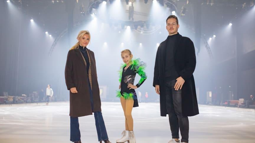 Das Münsteraner ACADEMY Talent Leony Hinz sowie die Nachwuchsdesigner Jessie Wistorf und Carlo Kondring durften bei den finalen Proben hinter die Kulissen von SHOWTIME schauen