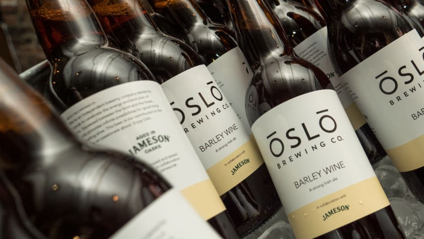 Unikt samarbeid mellom Jameson Irish Whiskey og OsloBrewing Co.