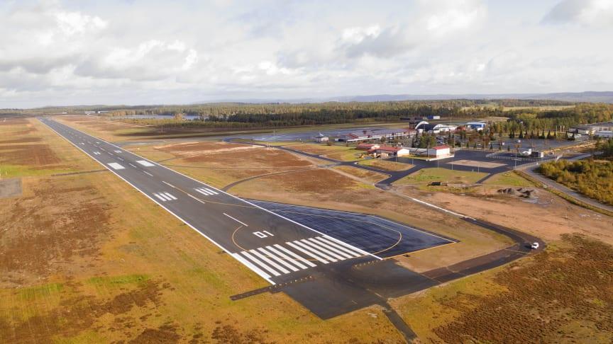 Jönköping Airports utbyggnad, vändyta Söder