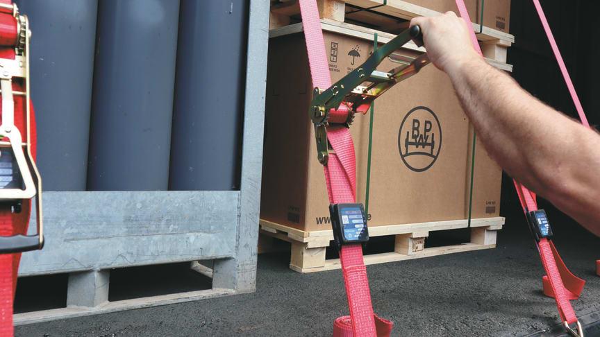 iGurt: BPW macht die Ladungssicherung intelligent
