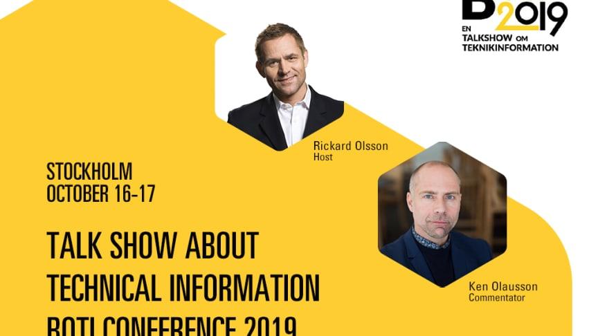 BOTI Conference 2019 in Stockholm