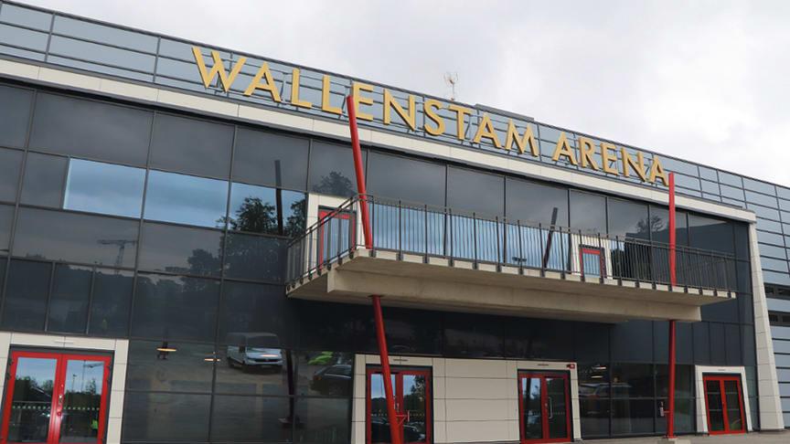 Den nya arenan är 6 300 kvadratmeter stor och ligger på industrihistorisk mark i Mölnlycke fabriker.