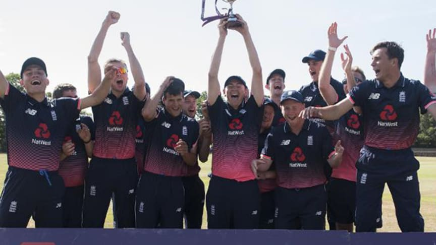 England Learning Disability side were unbeaten in the INAS Tri-Series supported by NatWest