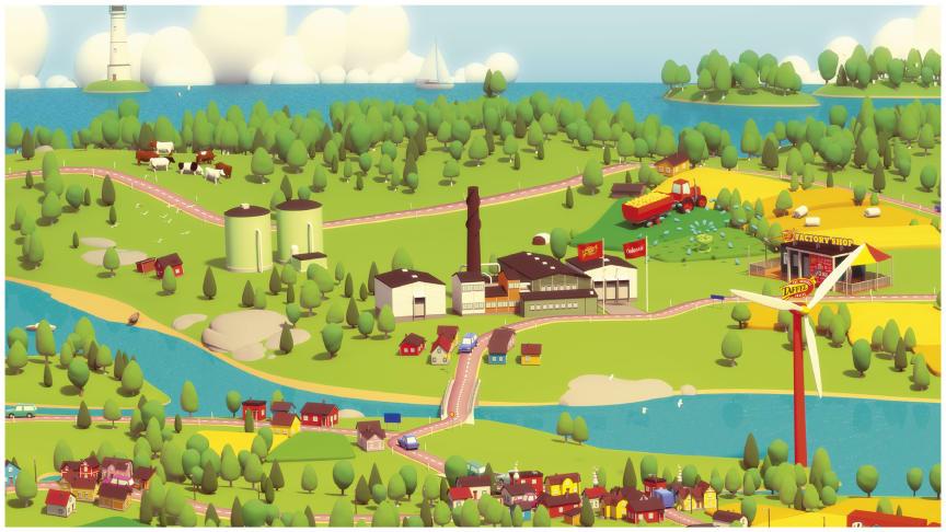 Orkla Suomen tehtaalla tuotetaan biokaasua, hyödynnetään tuulivoimaa ja puhdistetaan pesuvedet