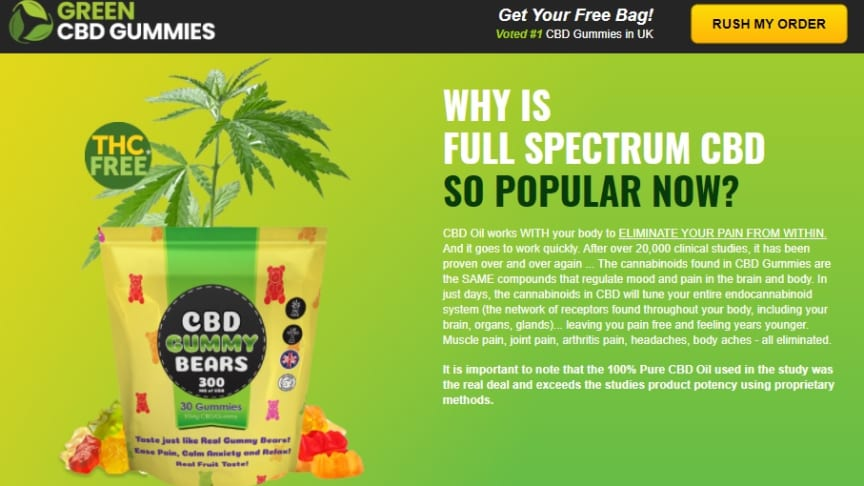 Bradley Walsh Green CBD Gummies [Reviews] – Live A Healthy Life Without Aches! Get Best Neurotransmission For Perfect Mental Health.