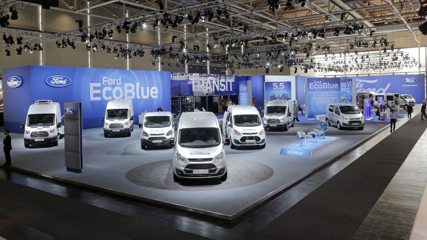 Ford Transit går i overhalingsbanen med nye versioner