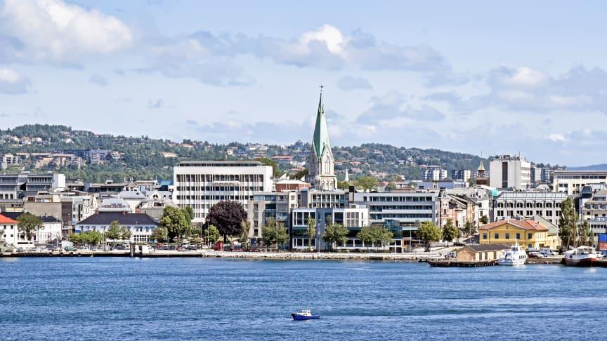 Telenor åpnet den aller første 5G-basestasjonen i Kristiansand mandag.