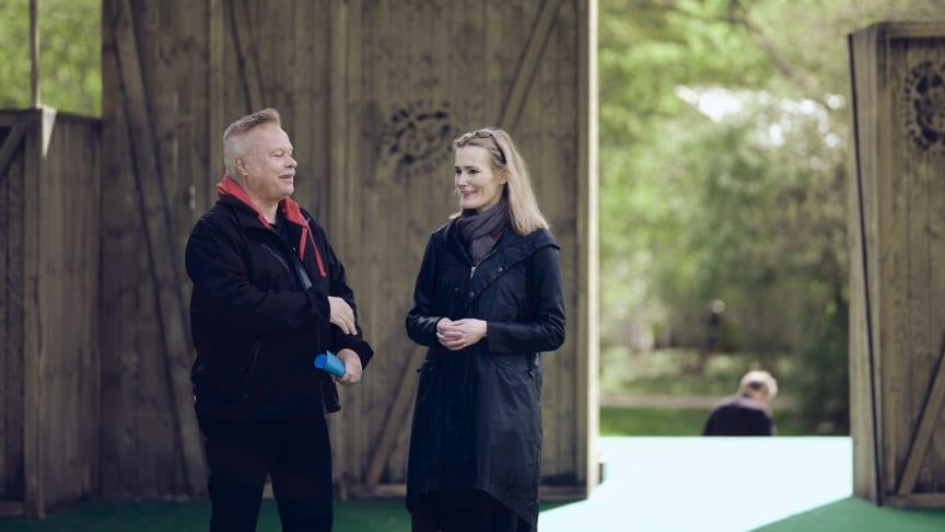 Hans Marklund och Lotta Olsson har skrivit manus till Stora drömmar som har premiär på Sofiero 11 maj.