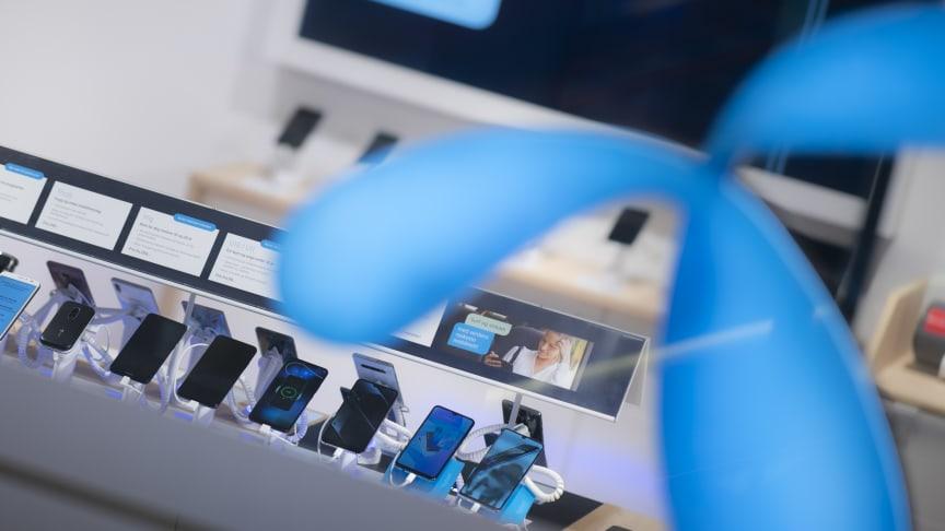 I Norge er det i all hovedsak Apple og Samsung som selger, viser tall fra Telenor. Foto: Martin Fjellanger
