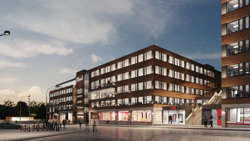 Göteborg får nytt landmärke när BRA Bygg bygger Nya Kasernen
