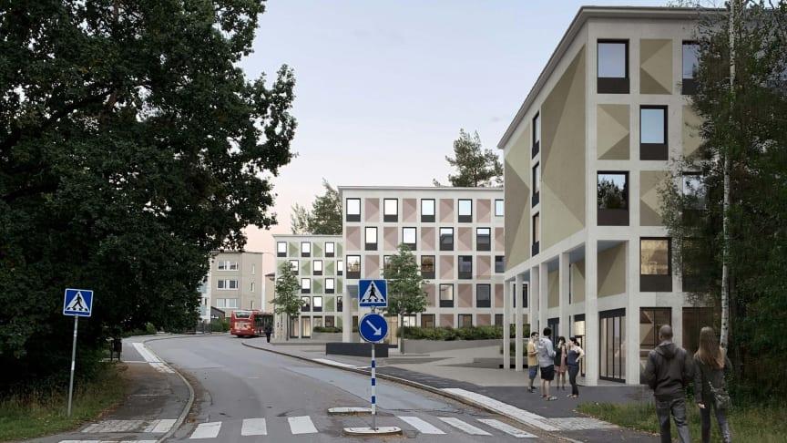 Järntorget startar byggnationen av ca 380 studentbostäder i Kärrtorp