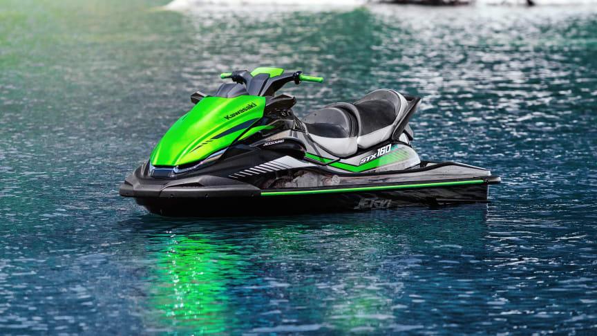 Toppmodellen Kawasaki JET SKI STX 160LX