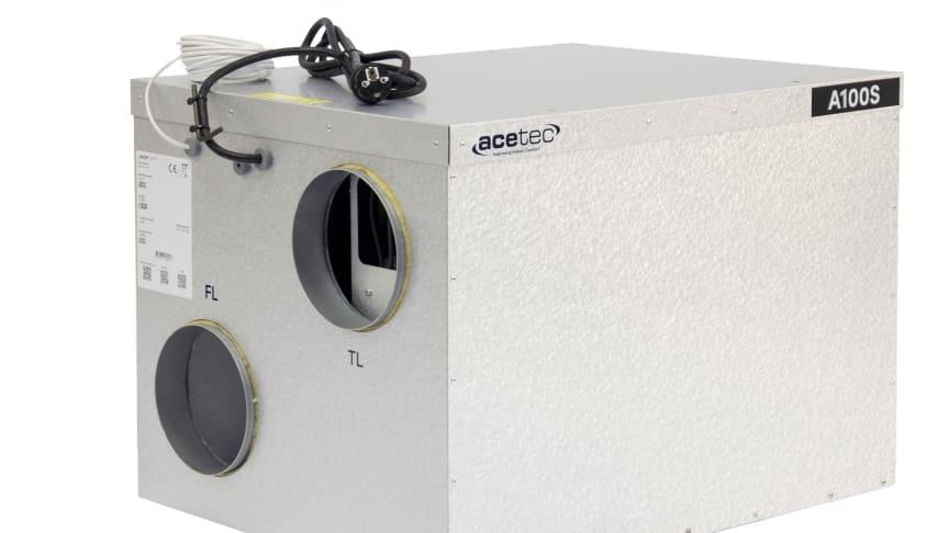 EvoAir - Nytt samlingsnamn för Acetec ventilationsaggregat