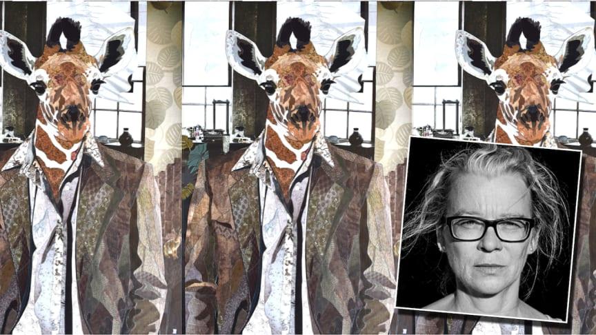 "Collage ""Mr G Brisson"" av Åsa Södergren"