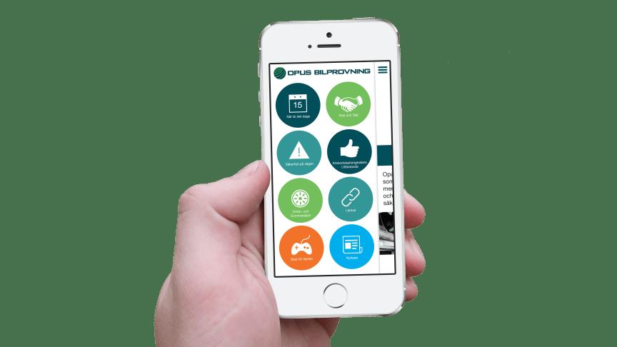 Ny uppdatering av Opus Bilprovning-appen finns nu tillgänglig för Android!