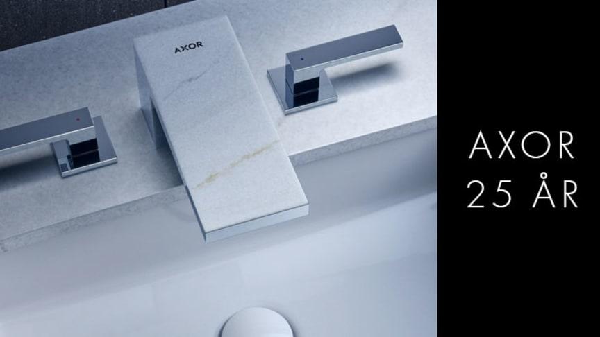 I forbindelse med 25-årsjubileet presenterte AXOR sammen med Phoenix Design AXOR MyEdition på Salone del Mobile i Milano – en ny dimensjon av individualisering. Den lanseres i Norge i våren 2019.
