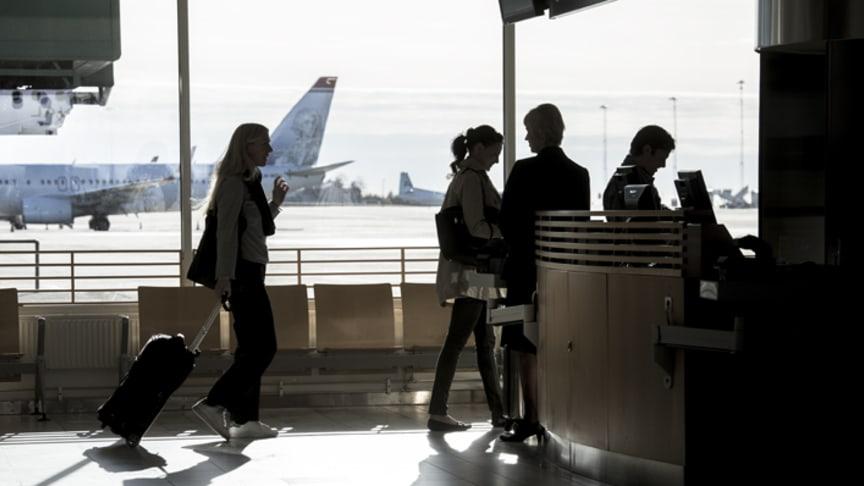 Landvetter inleder året med fler resenärer