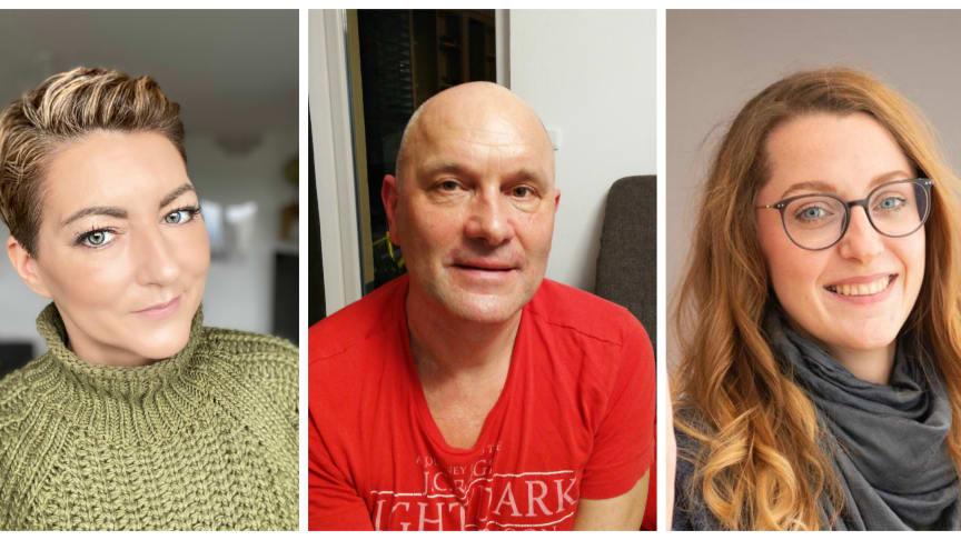 Die Nominierten für den Ehrenfelix 2020 v.l.n.r.: Monika Klein, Jens Irmer, Susanna Zsoter