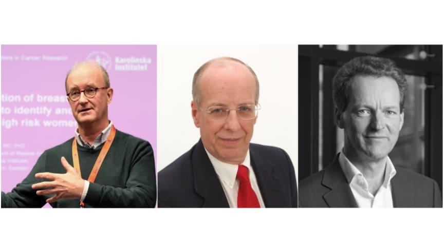 Evidents Medical Advisory Board bestående av Professor Per Hall, Dr Cliff Titcomb och Dr Maarten de Château.