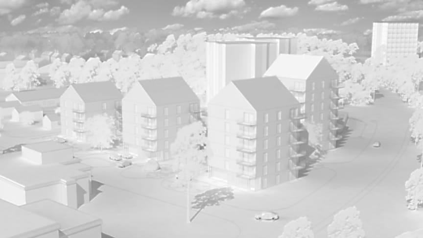 Riksbyggen uppför 67 lägenheter i Malmaberg i Västerås