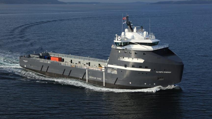 Mitt skip er ladet med elektrisitet