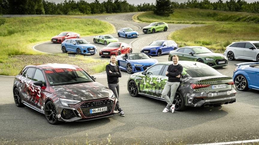 Audi Sport med ny elektrificeringsstrategi