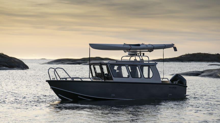 ALUKINS aluminiumbåtar för aktiva båtmänniskor finns på Sjoen for alle i OSLO 17-22 mars.