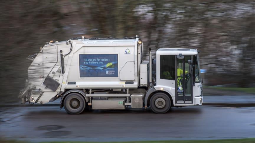 Besked från Mercedes-Benz – sopbilsfavoriten blir eldriven.