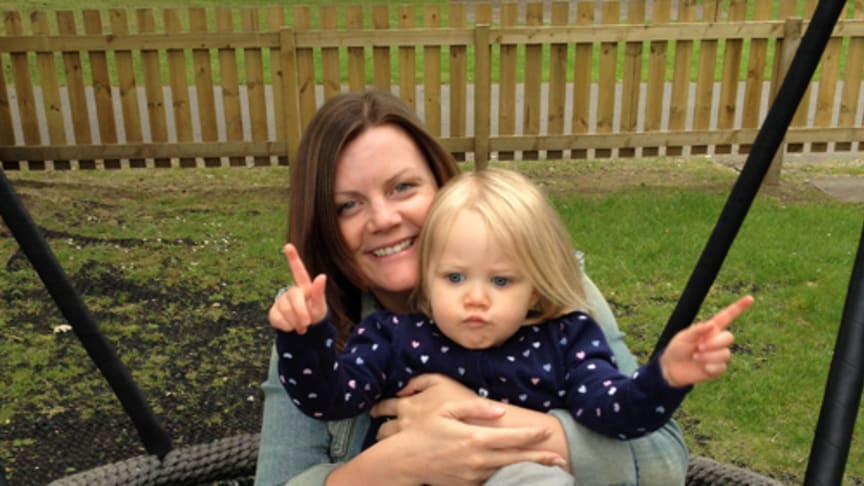 Mother takes on zip wire for stroke