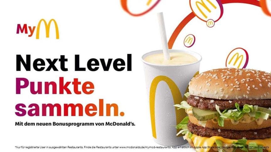 Einfach lecker punkten! McDonald's Deutschland startet deutschlandweites digitales App-Bonusprogramm