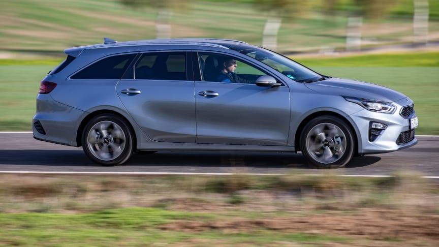 KIA Ceed SW er én af to bilmodeller der topper listen over lavest værditab under ejerskabet