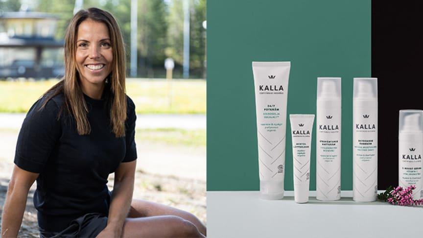 Charlotte Kalla lanserar hudvårdsserie med Kronans Apotek