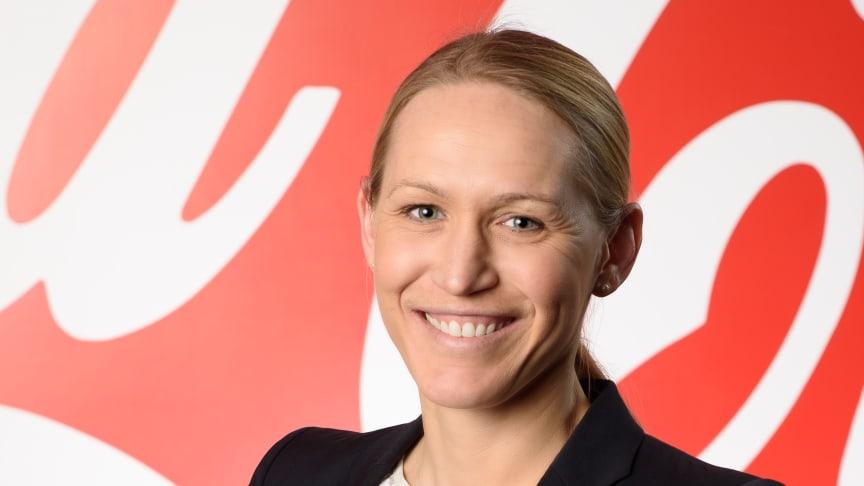 Sofie Eliasson Morsink blir ny vd för Coca-Cola European Partners i Sverige